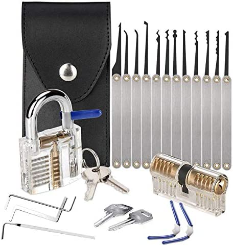 Professional 15 Piece Hook Set with 2 Locks product image