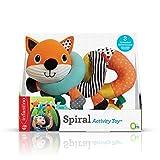 Infantino Spiel-Spirale für den Kindersitz Fuchs, mehrfarbig