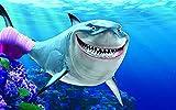 PosterDaddy Findet Nemo Blue Bruce Findet Nemo Ocean Poster