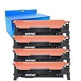 OUGUAN® 4X Cartuchos de tóner para Samsung Xpress CLT-P406C CLT-C406S CLT-K406S CLT-M406S CLT-Y406S SL-C460FW SL-C460W SL-C410FW SL-C410W SL-C467W CLX-3305FN CLX-3305FW CLX-3305N CLX-3305W CLP-360N