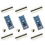 Elegoo Nano Scheda di Microcontrollore CH340 ATmega328P(Kit di 3)