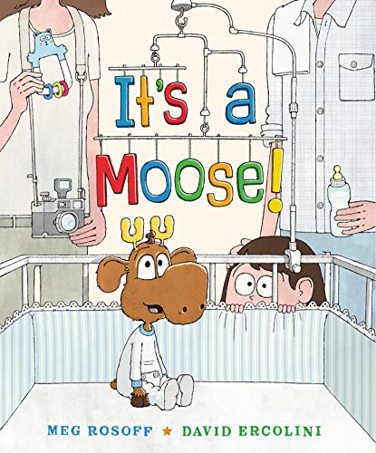 Image of It's a Moose!