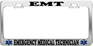Best emt license plate frame Reviews