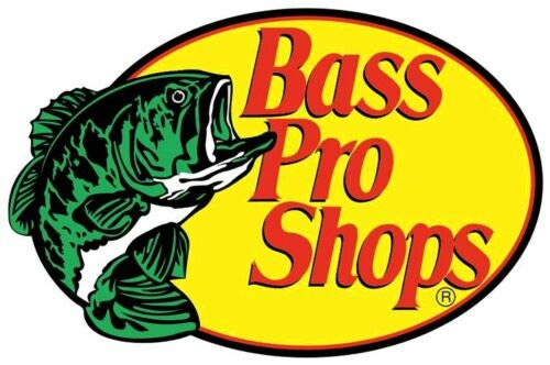 Bass Pro Shops Fishing - Sticker Graphic - Auto, Wall, Laptop, Cell, Truck Sticker for Windows, Cars, Trucks