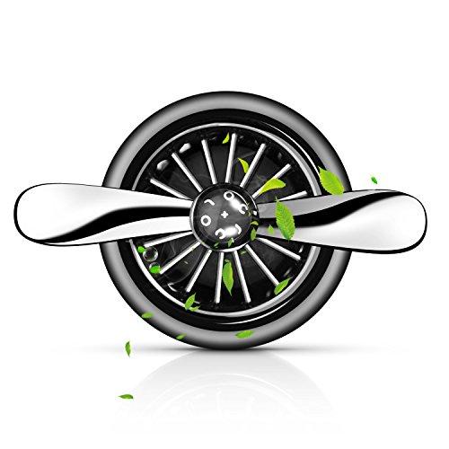 Movaty Desodorante del Coche,desodorante auto fragancia difusor automático sin alcohol ventilación coche difusor ideal para coche o RV y buen regalo para coche elimina humo y olore