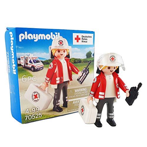 Playmobil 70525 DRK Sanitäter mit Koffer und Funkgerät Sonderfigur