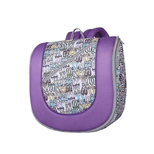 Lit de bébé Pliant, Maman Backpackage Baby Nest Lit Portable Voyage bébé Passing Bref Bed Lit (Orange), Gratuit de Produits Chimiques, Monsteramie (Color : Purple)