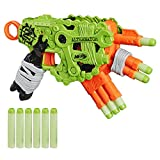 Nerf Zombie Strike Alternator Blaster – Fires 3 Ways – Includes: 12 Official Nerf Zombie Strike Elite Darts – for Children, Teens, Adults