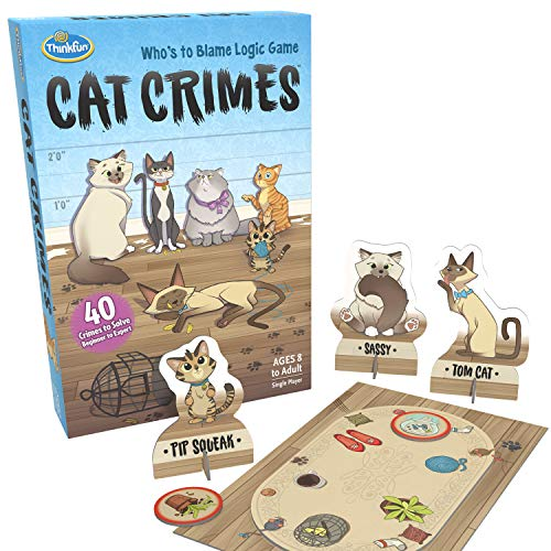 ThinkFun Cat Crimes Brain Game