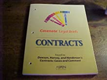 Casenote Legal Briefs: Contracts, Keyed to Harvey & Henderson