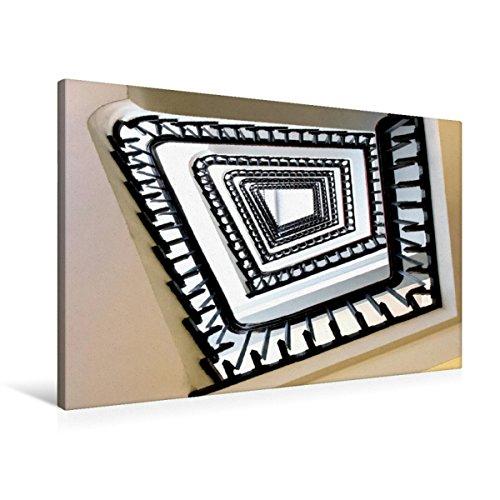 Premium Textil-Leinwand 90 x 60 cm Quer-Format Faszination Treppen   Wandbild, HD-Bild auf Keilrahmen, Fertigbild auf hochwertigem Vlies, Leinwanddruck von Carina Buchspies