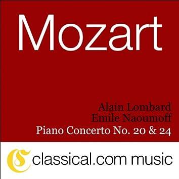 Wolfgang Amadeus Mozart, Piano Concerto No. 24 In C Minor, K. 491