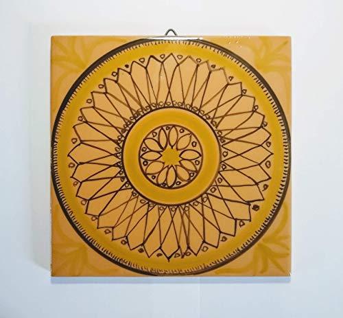 Azulejo geométrico-Azulejo de cerámica cuadrada tamaño cm 20x20x0,7