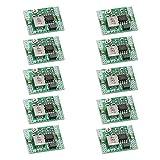 VKLSVAN 10PCS Mini MP1584EN Step Down Buck Converter Voltage Regulator Module Adjustable DC to DC 4.5-28V to 0.8-20V Module 24V to 12V 9V 5V 3V