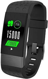 Pulsera Weefit–Monitor de actividad, pulsómetro, cardio-frecuencia, medición de la tensión arterial, monitor de sueño