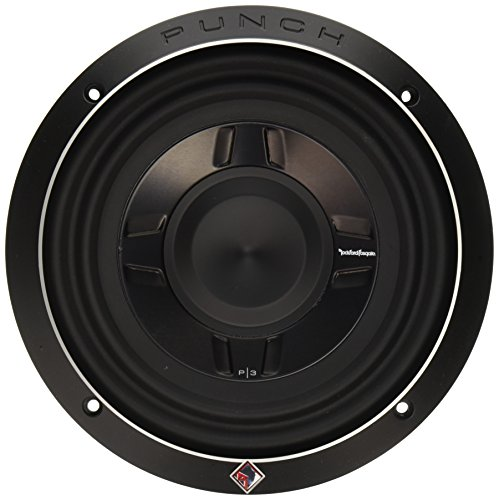Rockford Fosgate P3SD2-8 8' Dual 2-Ohm Punch Series Shallow Mount Car Subwoofer