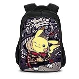 Kids Pokemon Backpack Back to School Book Bag Backpack for Scool,Travel 7