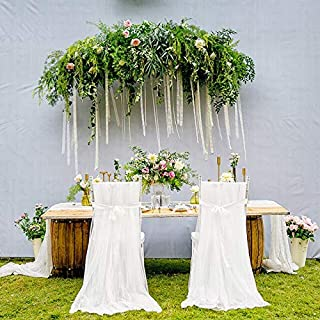 Chair Cover - Wedding Banquet Chair Skirt Cover Long Wedding Event Party Supplies Hotel Banquet Dining Table And Chair Cov...