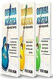 Guitarra acústica para principiantes: 3 libros en 1: guía para principiantes para aprender los dominios de la guitarra acústica + aprender a leer música + tocar canciones y grabar la guitarra