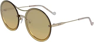 Liu Jo Women's Sunglasses Round Liu Jo Simple Logo Golden Beauty