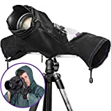Altura Photo Professional Rain Cover for Canon Nikon Sony DSLR Mirrorless Cameras