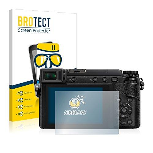 brotect Protection Ecran Verre Compatible avec Panasonic Lumix DMC-GX80 Film Protecteur Vitre 9H Anti-Rayures, AirGlass