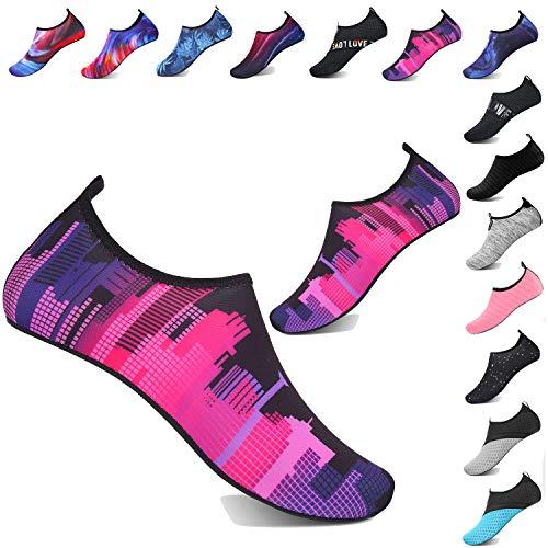 TcIFE Zapatos de Agua Hombre Mujer Zapatillas Ligeros de Secado Rápid