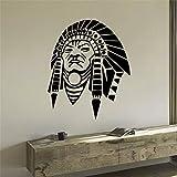 yaonuli Etiqueta de la Pared Decoración de la Sala del Personaje Indio Etiqueta...