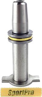 SHS製 347 電動ガン Ver 3用 ダブルセクターギア スプリングガイド メタル製 - シルバー