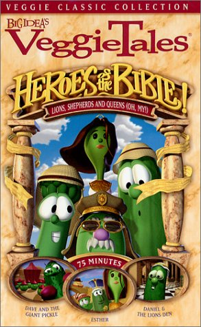 VeggieTales - Heroes of the Bible - Lions, Shepherds and Queens (Oh My!) [VHS]