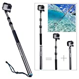 Smatree Carbon Fiber Detachable Extendable Floating Pole Compatible for...