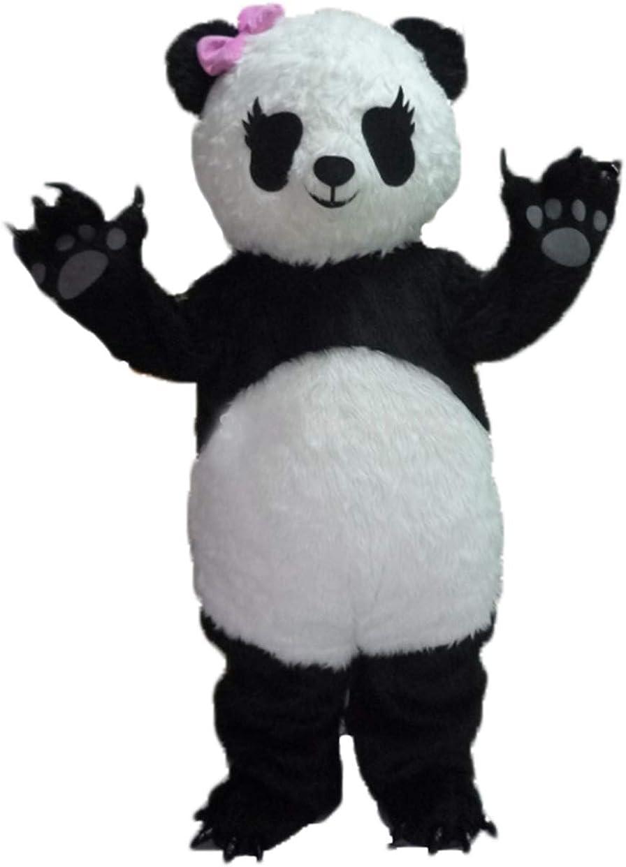 Cute Girl Panda Suit Adult Mascot Body Costume Fancy New product Dress Full High quality new