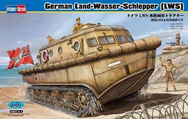 Hobbyboss 1 35 Scale  German Land Wasser Schlepper Amphibious Tractor Early  Assembly Kit by Hobbyboss