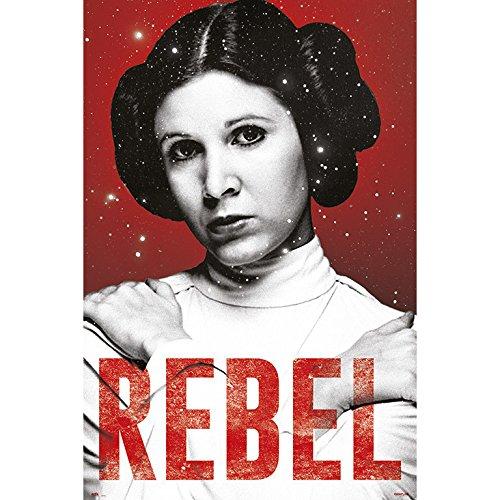 Star Wars Poster - Rebel Prinzessin Leia - Filmplakat 61x91,5 cm