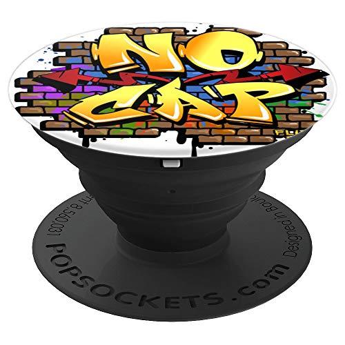Flite Boi - Graffiti Lustiger Humor - Keine Kappe - PopSockets Ausziehbarer Sockel und Griff für Smartphones und Tablets