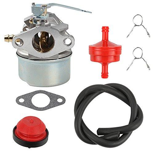 Anzac 640086A Carburetor for Tecumseh 3HP 2 Cycle Snowblower 640098A 632552 Toro Craftsman MTD Yardmachine Carb