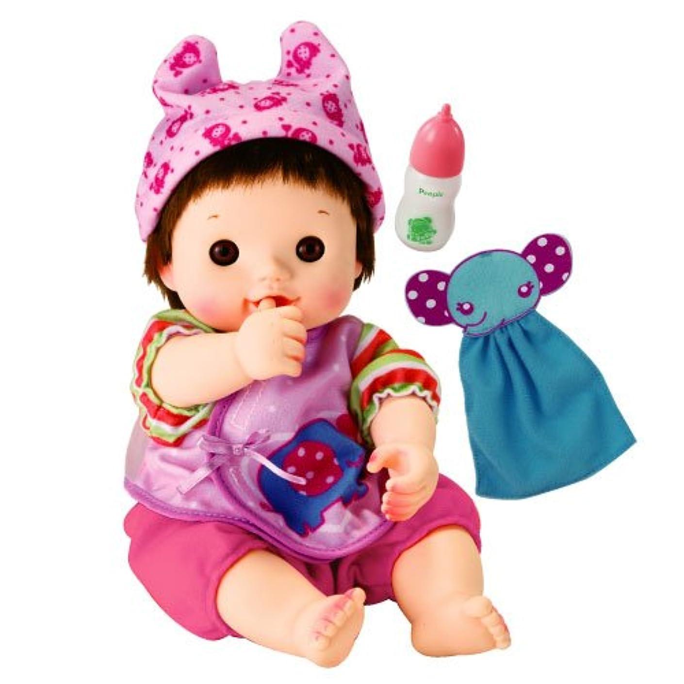 近代化するジョイントユダヤ人ぽぽちゃん お人形 やわらかお肌のちいぽぽちゃん ごくごくミルク&ぞうさんタオルつき