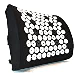ZenGuru Best Lumbar Support Cushion - Acupressure Massage Back Pillow - Posture Improvement, Back...