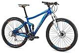 Mongoose Salvo Sport 27.5' Wheel Mountain Bicycle, Blue, 19.5'/Large