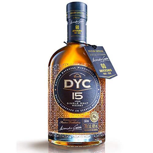 DYC 15 años Edición Especial 60 Aniversario Single Malt Whisky, 40% - 700ml
