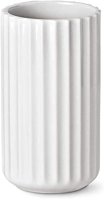 Lyngby Lyngbyvase Jarrón, Porcelana, Blanco, 7.3 cm