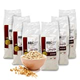 Carioni Food & Health Harina de Avena Integral ecológica - 500 gr (Paquete de 6 Piezas)
