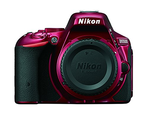 Nikon D5500 DX-format Digital SLR Body (Red)