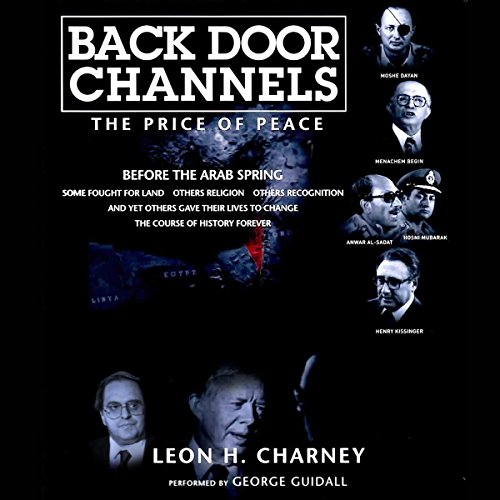 Back Door Channels: The Price of Peace audiobook cover art