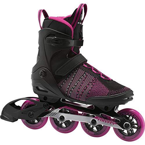 Firefly Damen Ils 510 W90 Skateboardschuhe, Schwarz (Black/Pink Dark 900), 36 EU