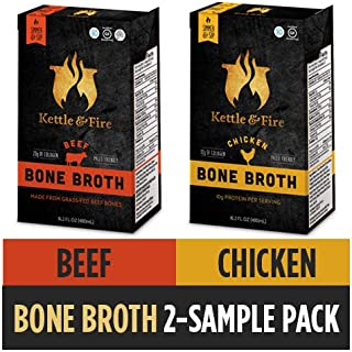 Beef and Chicken Bone Broth, 2 Pack
