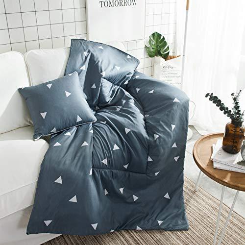 QMZ Algas de cebra, zorro, alce edredón de almohada de dibujos animados manta de almohada de doble uso manta de siesta de oficina edredón de cojín de coche