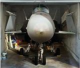 Fotoplane Kampfjet fürs Garagentor bei Amazon