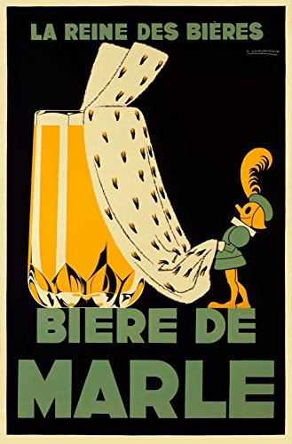 AFDRUKKEN-op-GEROLDE-CANVAS-Biere-de-Marle-Courchinoux-Edouard-Tekens-Afbeelding-gedruckt-op-canvas-100%-katoen-Opgerolde-canvas-print-Kunstdruk-op-gerold-Afmeting-92_X_60_cm