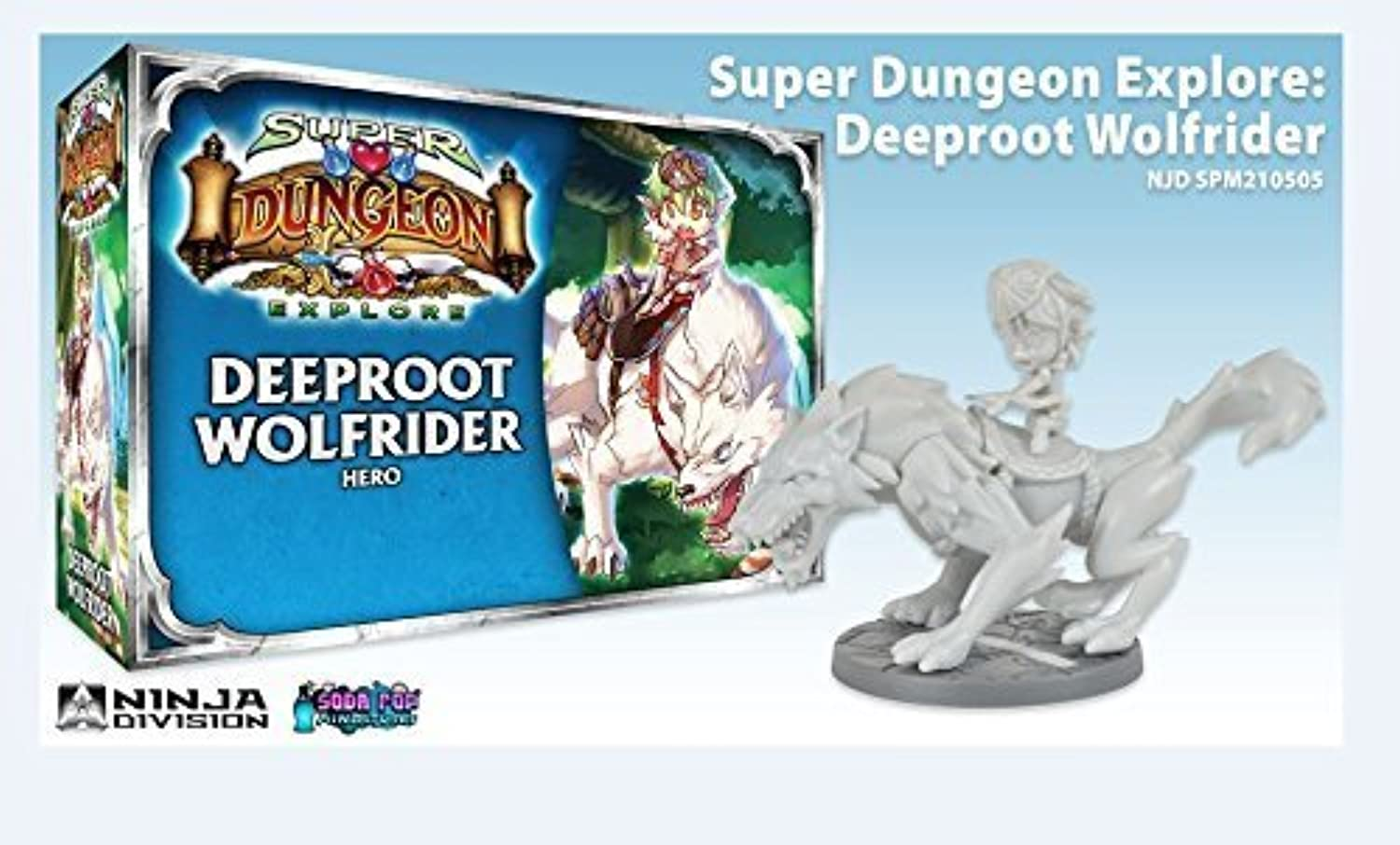 Deeproot Wolf Rider Game by Ninja Division